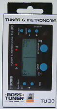 Boss TU-30 Tuner and Metronome  FREE Shipping