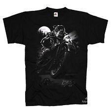 Motorrad Biker Chopper Rocker Bulldog Fighter T-Shirt *4166 bl.