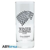 Game of Thrones 290 ml House of Stark Winter is Coming Glass Mug