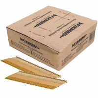 Fixman Collated Galvanised Ring Shank Framing Nails 34° 3.1mm x 90mm 2500 Pc U30