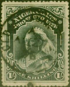 Niger Coast 1898 1s Black SG72 Good Used