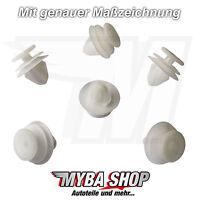 10x Verkleidungs Clips Klammern Nylon für Renault Peugeot Citroen | 6991S6