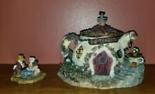 The Tea Cozy by Boyds Bearly-Built Villages 1st Ed #19015 ~ New in Box