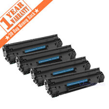 4PK CF283X Toner Cartridge for HP 83A LaserJet Pro MFP M127fw M127fn M125 Black