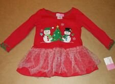 Girls Christmas Top Size 2T