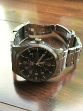 Seiko SNZG13 Automatic Men's Black Field Watch Military Watch Seiko 5 42MM 7s26