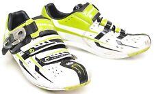 Pearl Izumi Eilte Road III Shoes EU 39 US Men 6.5 2 Bolt Carbon White Green Race