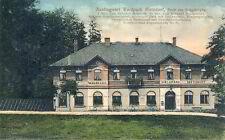 Ansichtskarte Waldpark Metzdorf Erzgebirge um 1913 Leubsdorf Augustusburg