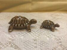 Wade Porcelain Turtle Family Figurines - Made In England - Lot Of 2 - 3� and 2�