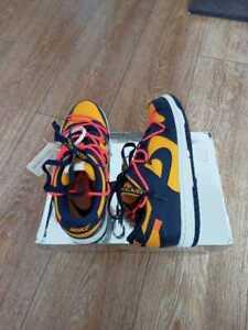 Size 9 - Nike Dunk Low x OFF-WHITE University Gold 2019
