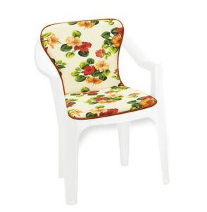 Cuscino sedia poltrona giardino morbido coprisedia fiori colorato bar dehor casa