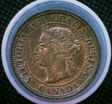 1891 Canada One Large Cent Coin