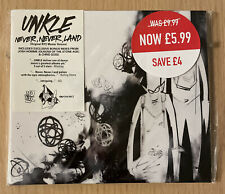 RARE UNKLE Never, Never Land Revisited CD (2004) Digipak Ian Brown Josh Homme