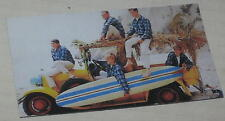 "The Beach Boys Woody & Longboard Floppy Thin Magnet 2"" x 3.5"" Feat David Marks"