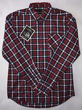 Merc London Camicia check da uomo in color navy taglia M Nuovo con etichette