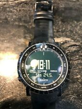 Suunto Core All Black Watch with Altimeter, Barometer & Compass - Used with case