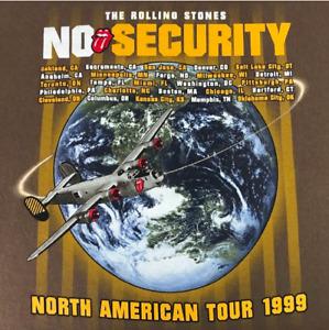 Vintage Rolling Stones Tour T Shirt Mens Size L Large 1999 No Security Concert