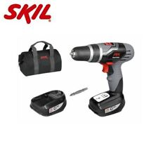 SKIL MASTERS 14V CORDLESS DRILL DRIVER WITH 2 X 1.3AH BATTERIES + CARRY BAG