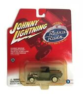 Johnny Lightning 2002 Retro Rods '29 Ford Model A Truck Real Rubber Tires NEW