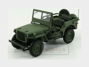 Jeep Willys Cabriolet Open 1942 Military Green NOREV 1:18 NV189013
