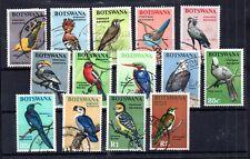 Botswana 1967 Birds VFU set SG220-233 WS15926