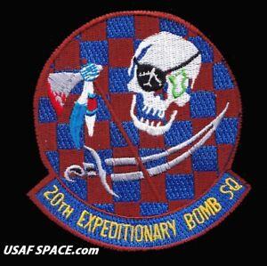 USAF 20th Expeditionary BOMB SQ -B-52-Global Strike-Barksdale AFB ORIGINAL PATCH