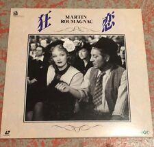 LACOMBE rare JAPAN laserdisc of FRENCH MARTIN ROUMAGNAC Marlene Dietrich