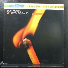 Don Menza & His '80s Big Band - Burnin' LP Mint- RT-301 Germany Vinyl Record