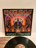 Kansas, Audio Visions, Original Release Vinyl LP Record Album VG+VG