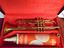Vintage Henri Selmer Paris France Brass Trumpet Depose' Grands Prix 1927 1930