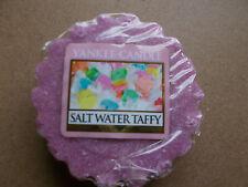 Yankee Candle USA exclusive rare Salt Water Taffy Wax tart