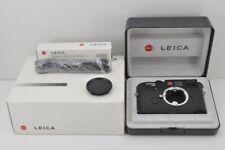 Leica M6 TTL 0.72 35mm Rangefinder Film Camera Black Body with Box MINT #170914f