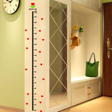Love heart Height Measure 20-200cm Wall Sticker Removable DIY Decal Home Decor