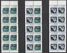 Palau #13a-b #14b MNH Booklet panes Fish 1983-84 cv $33