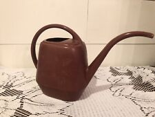 Vintage Garden Scene Small Indoor / Outdoor Plastic Plant Watering Can