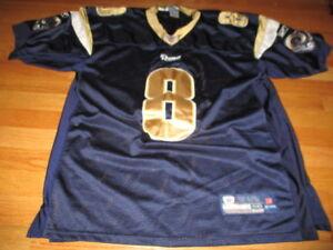 Reebok NFL Players SAM BRADFORD No 8 ST LOUIS RAMS (Size 50) Football Jersey