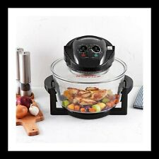 Deluxe Large Halogen Oven | 12-17L | Extender Ring | Convection Oven