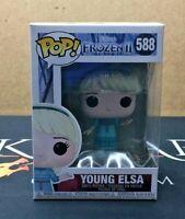 Young Elsa - 588 Disney Frozen II (Funko POP!) Vinyl Figure