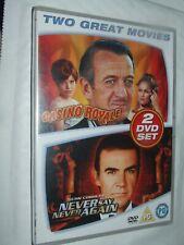 James Bond - Never Say Never Again / Casino Royale  DVD NEW & SEALED