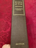 Russia At War By Alexander Werth 1941-1945 Hardcover