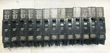 13) General Electric E11592 Swd Type Tey 20 Amp Circuit Breakers Lot Of 13