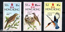 """1975 Hong Kong """"Birds"""" Scott # 309-311"""