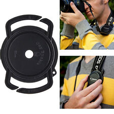 43mm 52mm 55mm Camera lens cap holder keeper belt buckle for Canon Nikon Sony