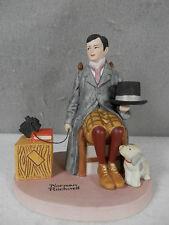 Norman Rockwell / Danbury Mint, Handcrafted Bisque Porcelain, Self-Portrait