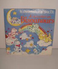 DISQUE VYNIL 45 TOURS 45T LES BISOUNOURS GENERIQUE TV 1986
