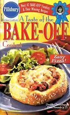 A TASTE OF THE BAKE-OFF CONTEST PILLSBURY COOKBOOK MARCH 2001 #241 COOKIES PIZZA