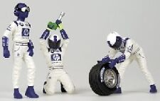 Pit Stop Crew Williams Back Frontal Tyre 1:18 Model MINICHAMPS