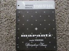 New listing Marantz St551 St551L stereophonic tuner Original Service Repair Manual