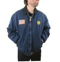 Vintage Carhartt Men's Sante Fe Canvas Duck Cotton Western Coat 2XL Jacket Work