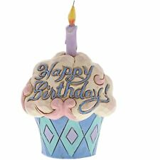 Jim Shore Heartwood Creek 4052066 Mini Birthday Cupcake Figurine